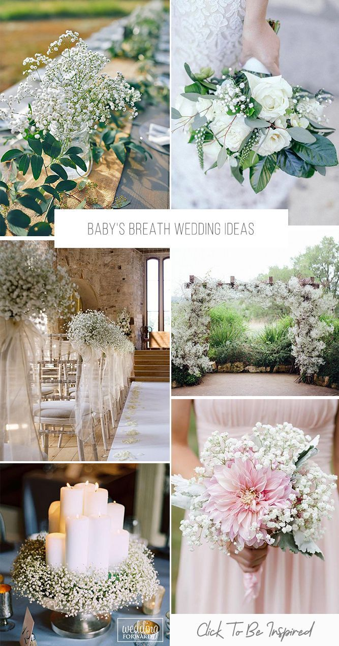 Baby S Breath Wedding Ideas For Rustic Weddings In 2020 Babys Breath Wedding Babys Breath Rustic Wedding