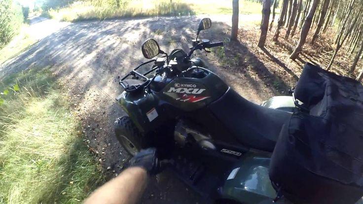Fast ride footage -  helmet camera