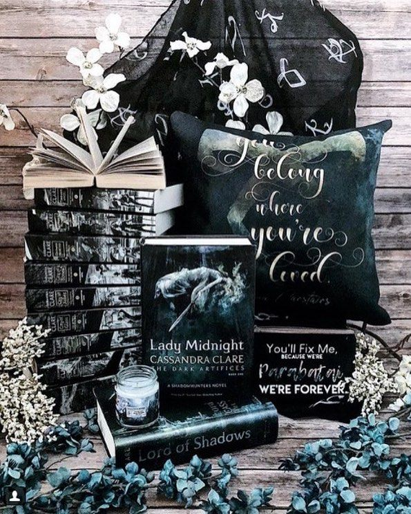 Pin By Literary Lifestyle Company On Mortal Instruments Lady Midnight Book Aesthetic Cassandra Clare Books