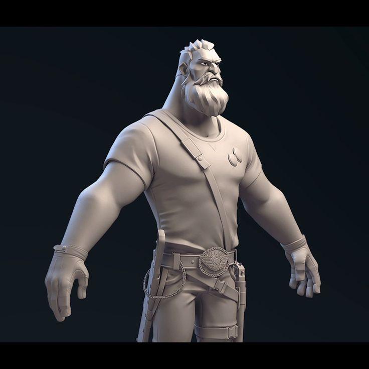 Dead Rivals Main Character , Johan Mai on ArtStation at https://www.artstation.com/artwork/oRaRW