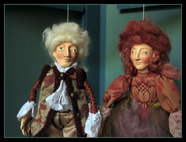 W.A.Mozart: The Magic Flute. Marionett- puppets by Zsuzsa Almási.
