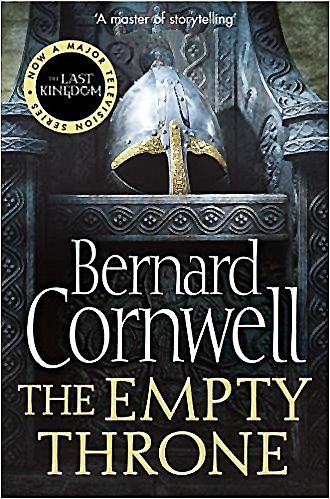 The Empty Throne by Bernard Cornwell....   Traded in recently @ Canterbury Tales Bookshop *-* Book exchange / Guesthouse / Cafe, #Pattaya.  In the battle for power, there can be only one ruler.  The ruler of Mercia is dying, leaving no apparent heir to his mighty Throne .  His wife is a born leader, but no woman has ever ruled over an English kingdom.  And she is without her greatest warrior and champion, Uhtred of Bebbanburg.