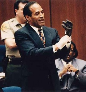 O.J. Simpson's murder case. The real beginning of reality television.