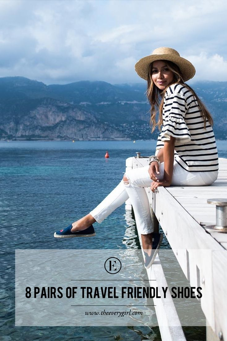 The Best Pairs of Travel Friendly Shoes #theeverygirl