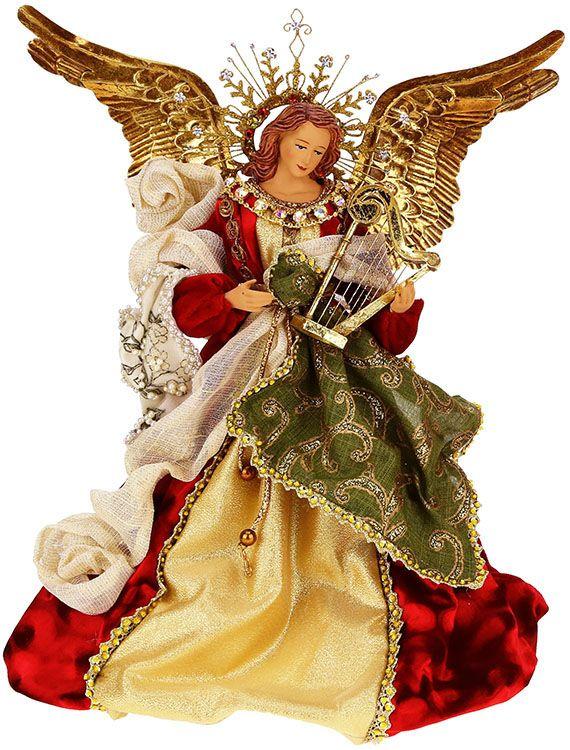 Heavenly Stg Angel Harp14 Quot Christmas Angels