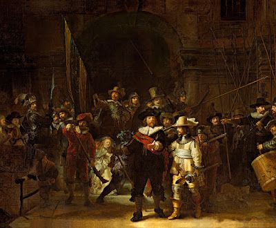 The Night Watch from Rembrandt Remastered