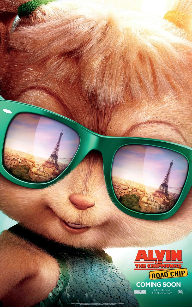 Eleanor's all about the crepes in Paris | Alvin and the Chipmunks: The Road Chip