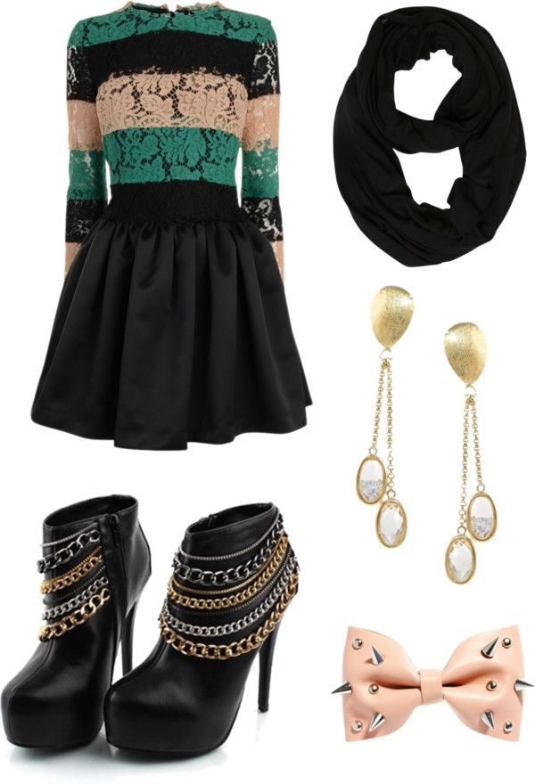 "The shoes make it a bit over the top.~Koa-Koa Mae       ""Aria Montgomery"" by hannah-rae-v ❤ liked on Polyvore:"