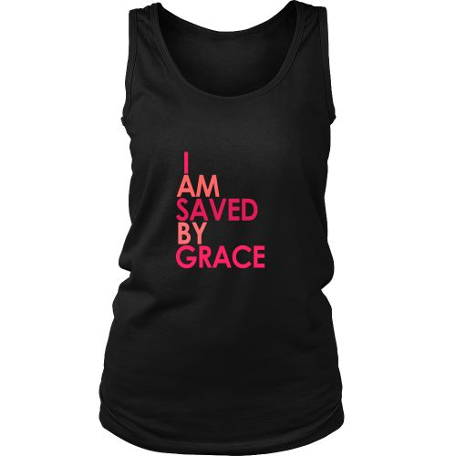 I Am Saved By Grace - Tank top – Fancy accessories+