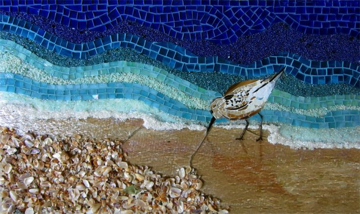 71 Best Ideas About Ocean Scenes Mosaics On Pinterest