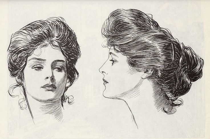 The Art of Pierangelo Boog: Charles Dana Gibson - *The Gibson Girl* - Pen and Ink works of his best