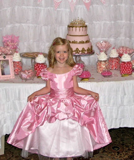 Fun Pretty In Pink Princess Candy Buffet For Both 5 Year