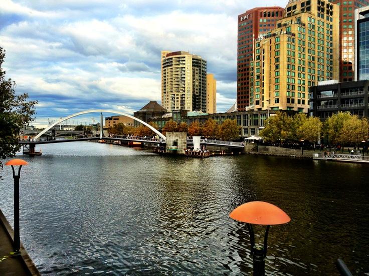 Melbournes Yarra River.
