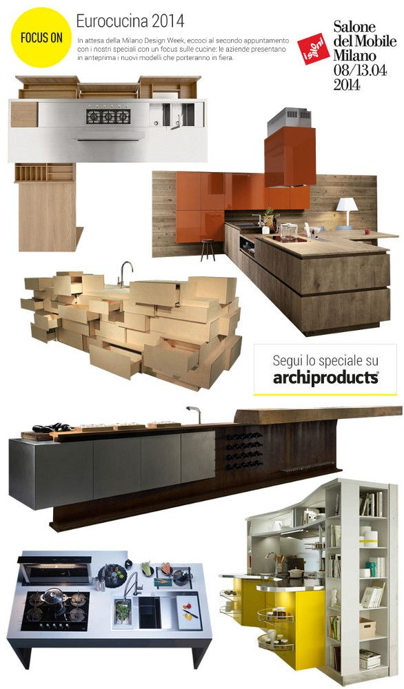 #archiproducts focus on #eurocucina 2014 #milandesignweek