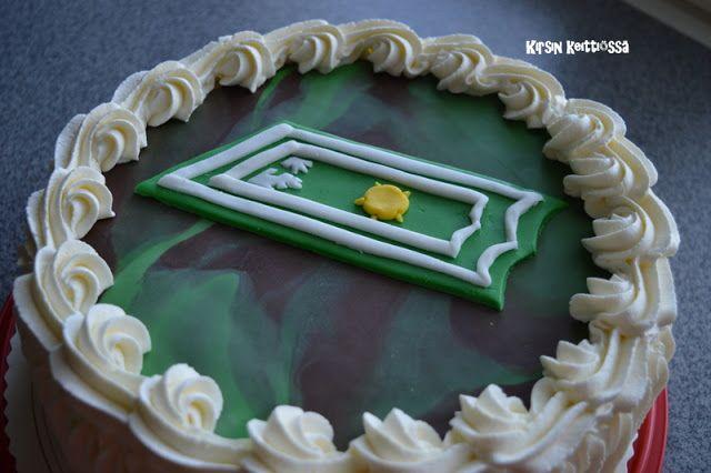 Kirsin keittiössä: Kakku majurille