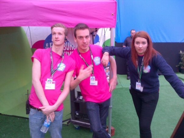 Volunteer with the BBC at the 2012 Edinburgh Comedy Festival