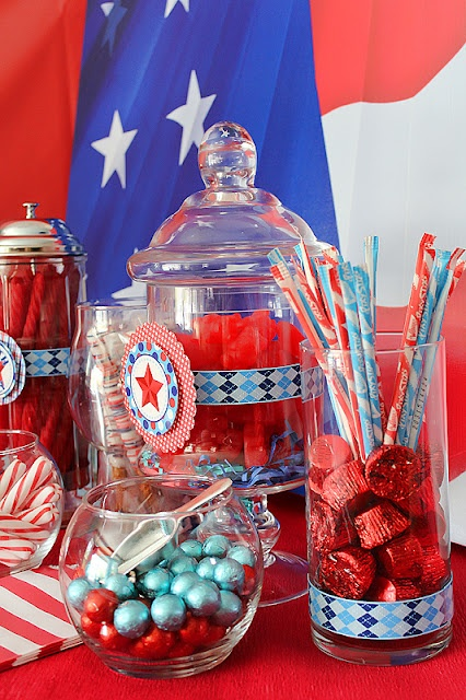 94 best images about Fourth Of July Party and Candy Buffet ...