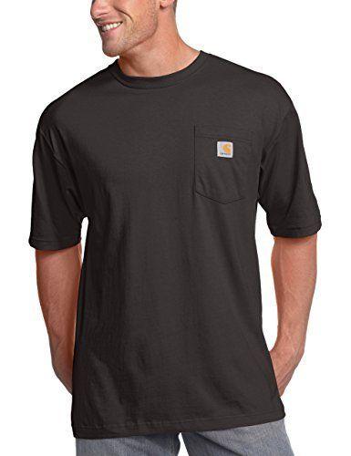 Carhartt Men's Big & Tall Workwear Pocket Short Sleeve T-Shirt Original Fit K87,Black,3X-Large Tall: #1 at the task Carhartt Workwear Brief…