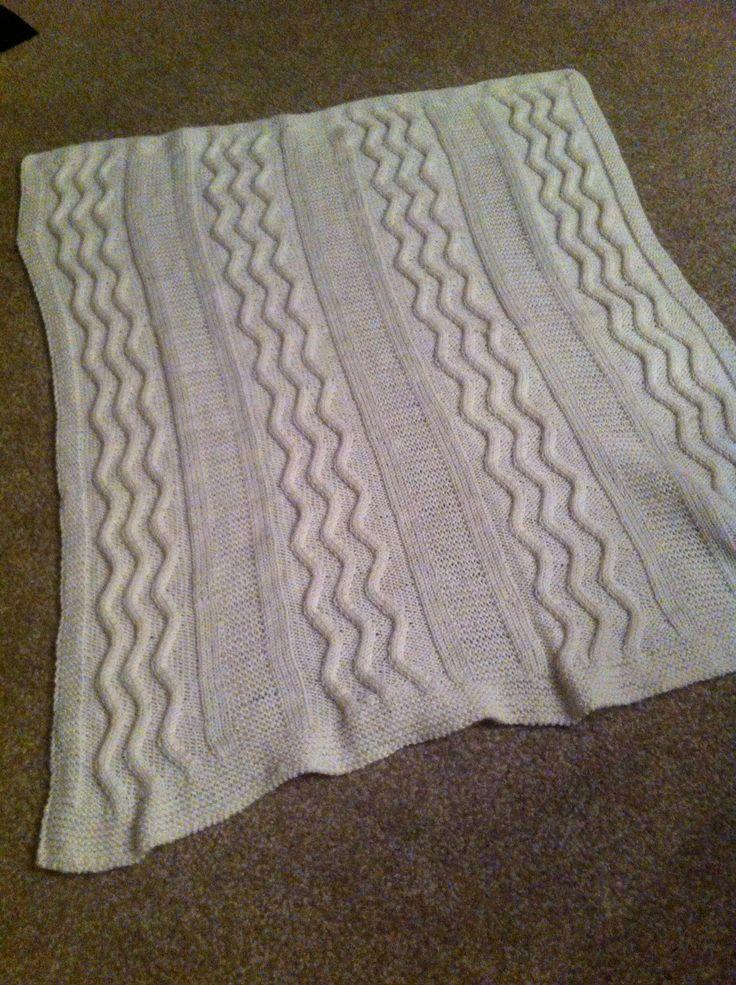Baby blanket. My own pattern