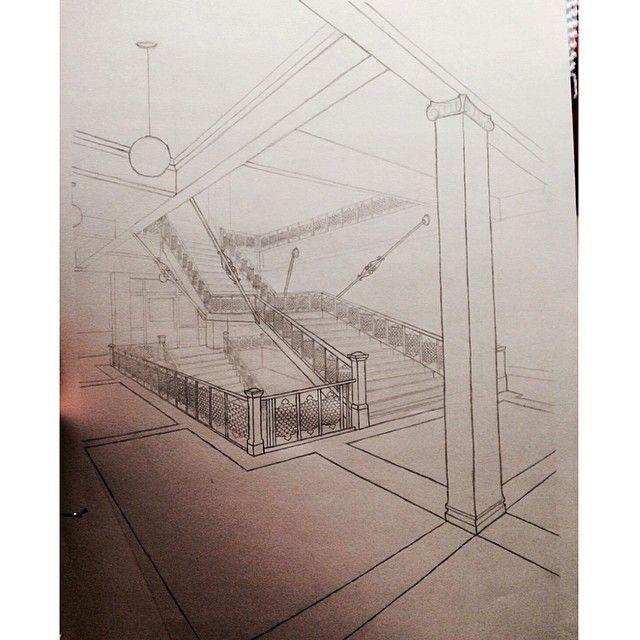 Drawing on campus. ✏️ #architecture #drawing #beardshear #iowastate