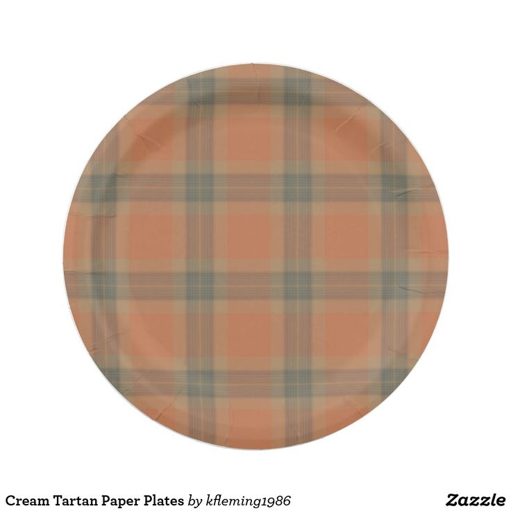 Cream Tartan Paper Plates  sc 1 st  Pinterest & 79 best Paper Plates images on Pinterest   Paper plates Lyrics and ...