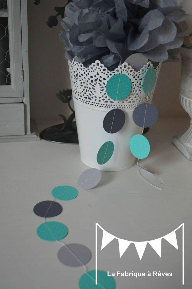 ... turquoise gris clair gris foncé décoration chambre enfant bébé