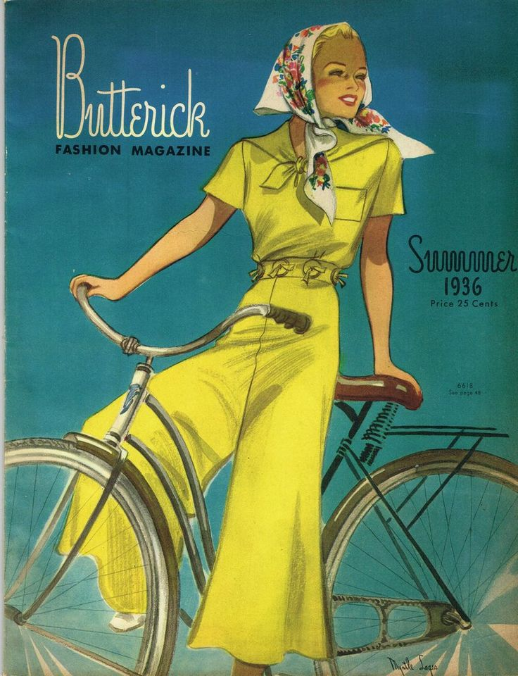 1930s Vintage Butterick Pattern Book Summer 1936 Catalog 52 Pages Gowns Dresses