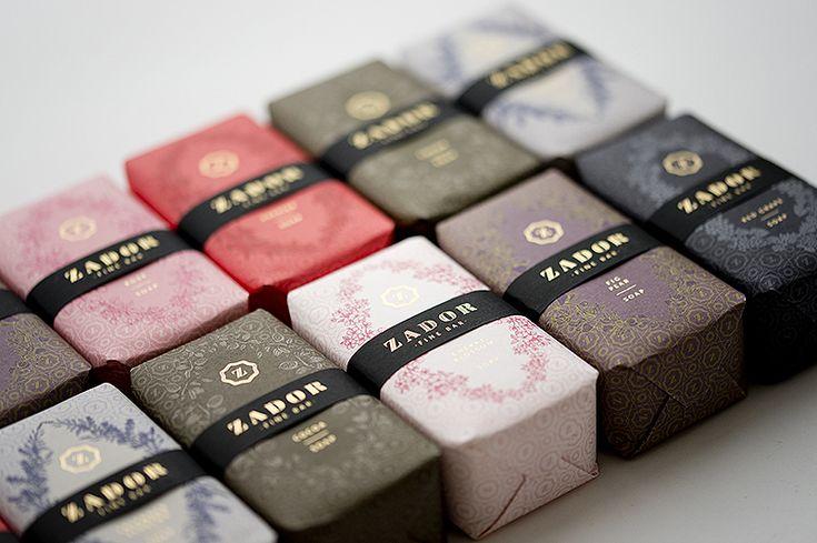 Packaging Design, Zador Soap #packaging #design (http://www.pinterest.com/designeurnet/)