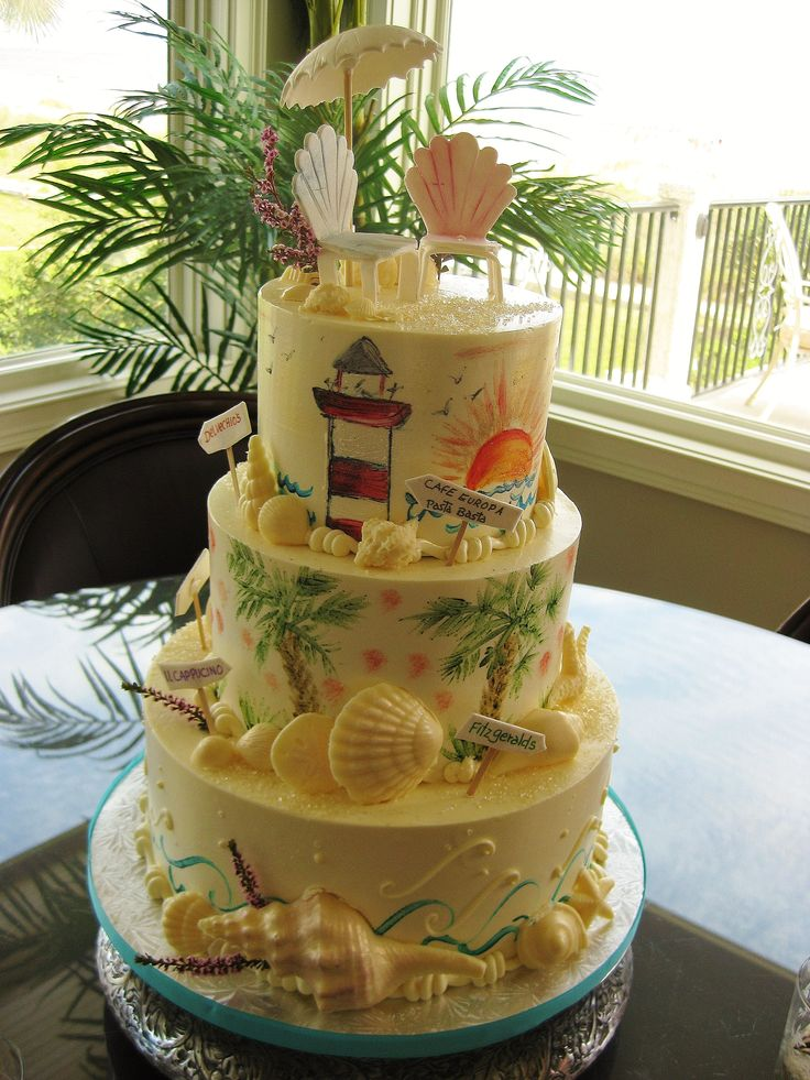 images of wedding cake tree 1000 images about island seashell wedding 16382