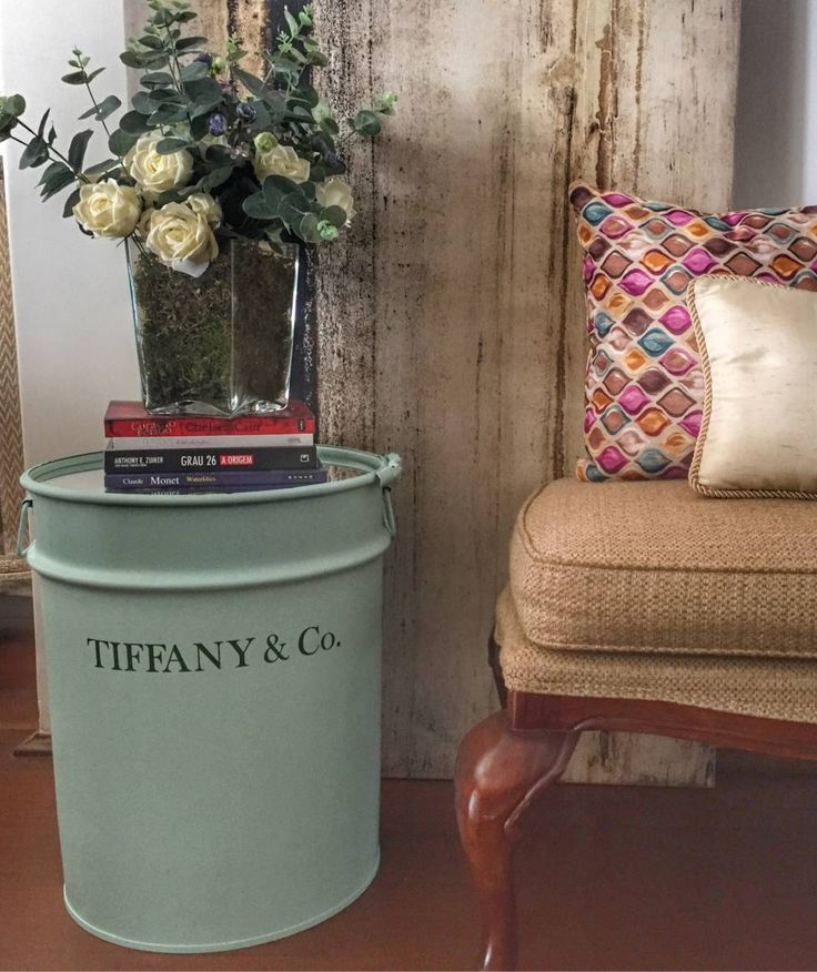 tambor decorativo tiffany - decoração tiffany
