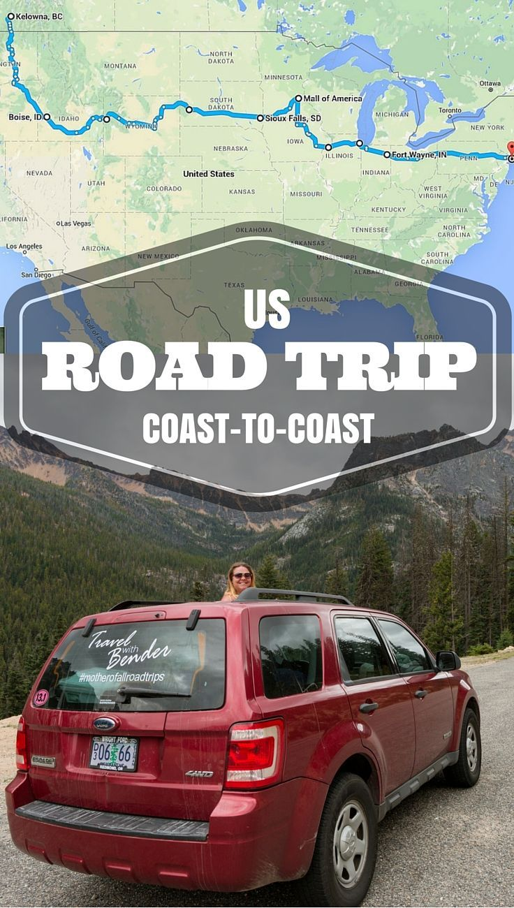 For this 3-week segment of our road trip we stretched the entire span of the United States from west to east. Yes, that's over 10 states in less than 1 month.