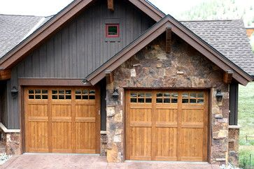 1000 images about detached garage on pinterest house for House plans with offset garage