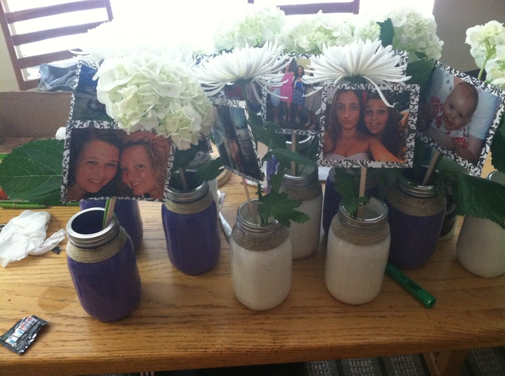 Really easy centerpieces but cheap i just made