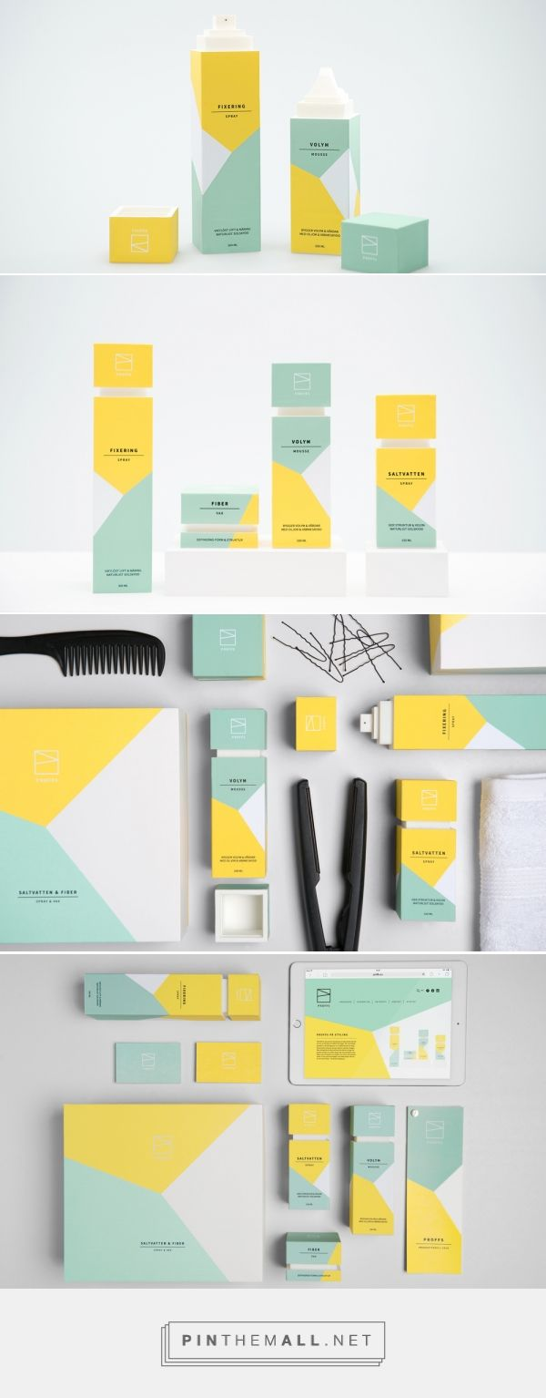 Proffs Concept / unisex brand / hairstyling products by Elisabeth Twede, Marcus Råbratt & Mimmi Nordholm