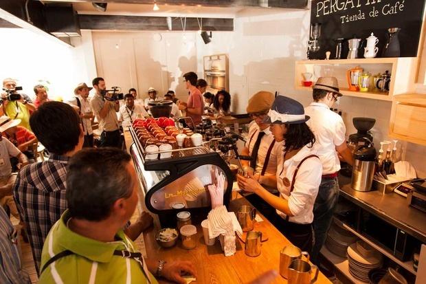 Pergamino Café - Medellin, Colombia