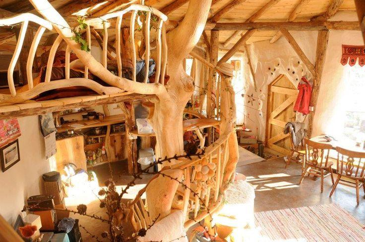 szalmabála Hobbit ház...