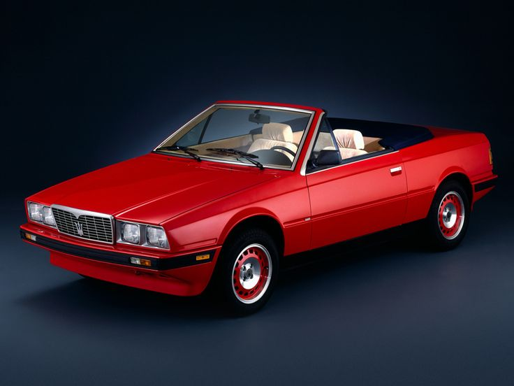 Maserati Biturbo Spyder '1984–89