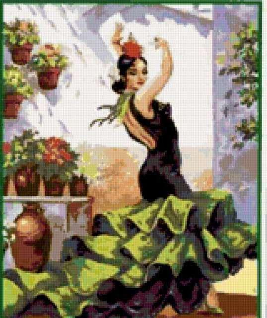 Испанский танец-2.jpg (538×640)