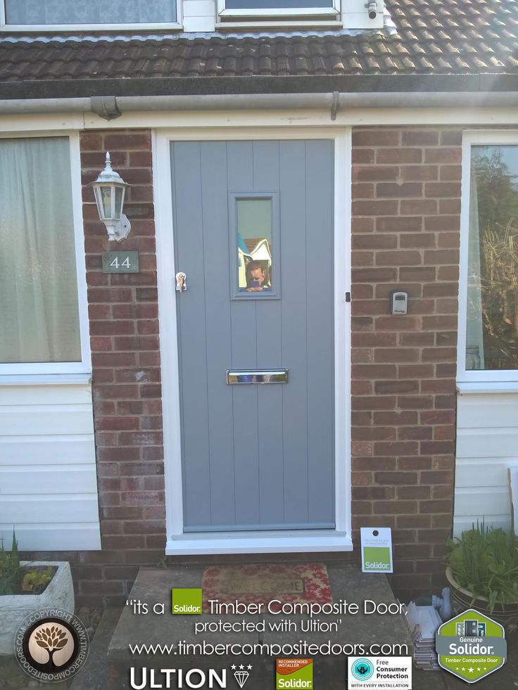 1000 Images About Solidor French Grey Timber Composite Doors On Pinterest Home Pictures Of