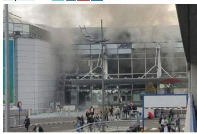 Belçika'nın Başkenti Brüksel'de Terör...