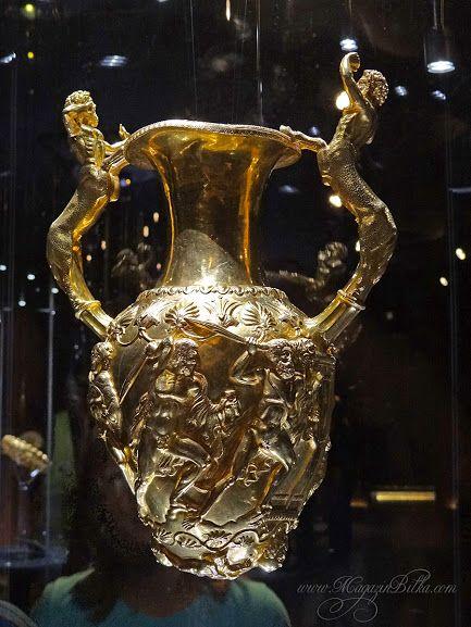 Panagyurishte Golgen Treasure - Thracian gold