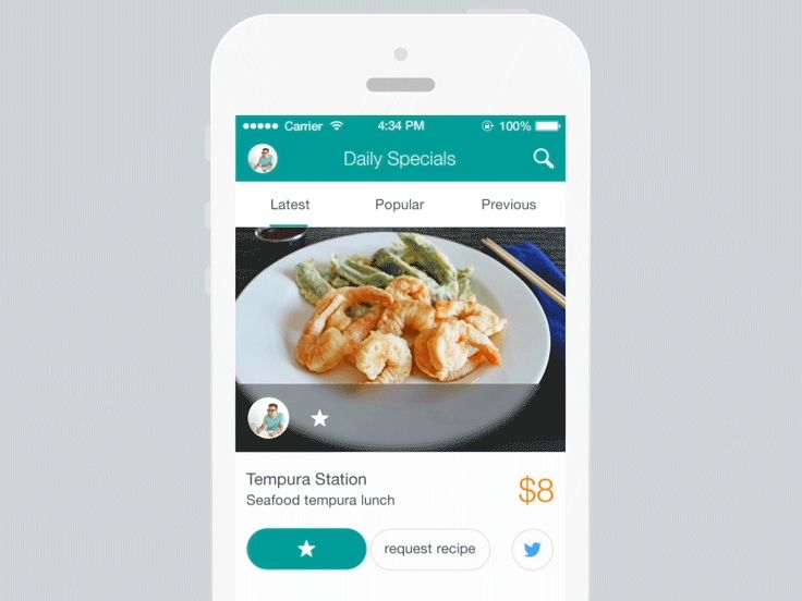 Request recipe interaction GIF by Ben Dunn