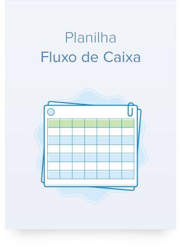 Download da planilha de fluxo de caixa