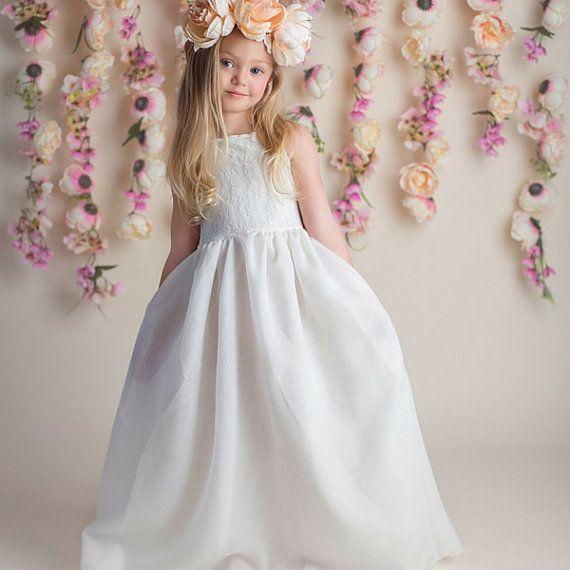1000+ Ideen zu Blumenmädchen Kleider auf Pinterest  Flowergirl kleid ...