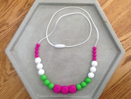 Silicon Teething Necklace