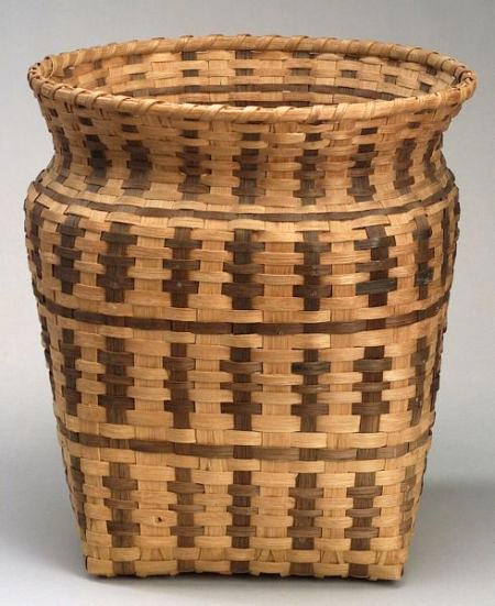 Traditional Native American Basket Weaving : Best images about american indian baskets on