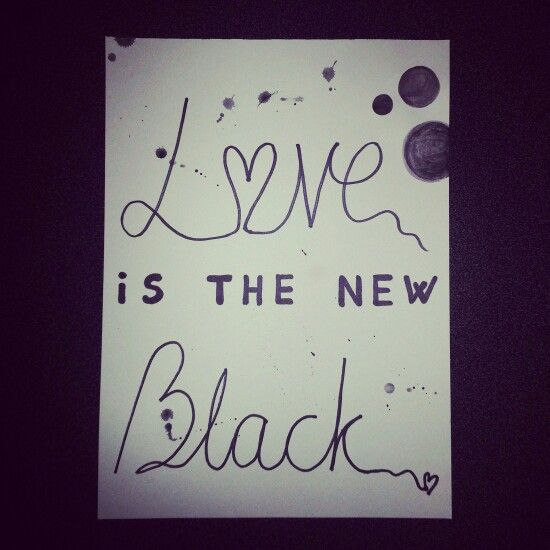 Lov is the new black