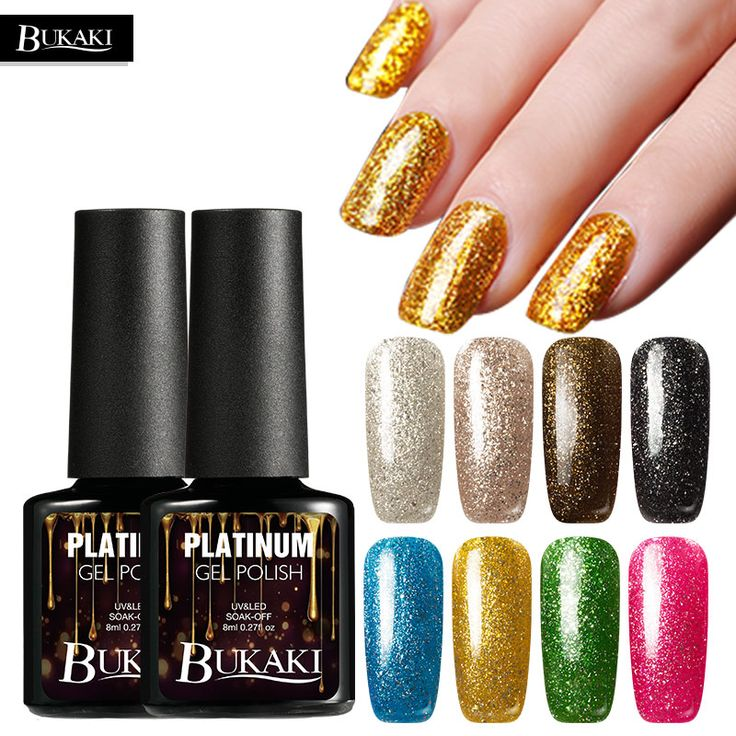 BUKAKI 1pcs Colorul Shimmer Platinum Gel Varnish UV LED Soak Off Gel Nail Polish Nail Art UV Gel Manicure UV Nail Polish  / // Price: $US $0.60 & FREE Shipping // /  Buy Now >>>https://www.mrtodaydeal.com/products/bukaki-1pcs-colorul-shimmer-platinum-gel-varnish-uv-led-soak-off-gel-nail-polish-nail-art-uv-gel-manicure-uv-nail-polish/  #Mr_Today_Deal