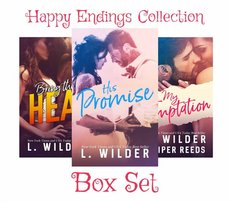Release Blitz: The Happy Endings Collection by L. Wilder