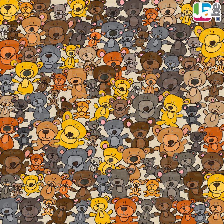 welke knuffel zit er tussen de teddyberen